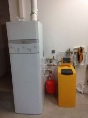 Chaudère fioul/gaz à condensation